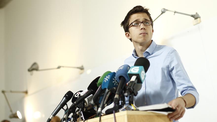 Errejón interviene mañana en un acto en Santander para apoyar la candidatura autonómica 'Claro que Podemos'