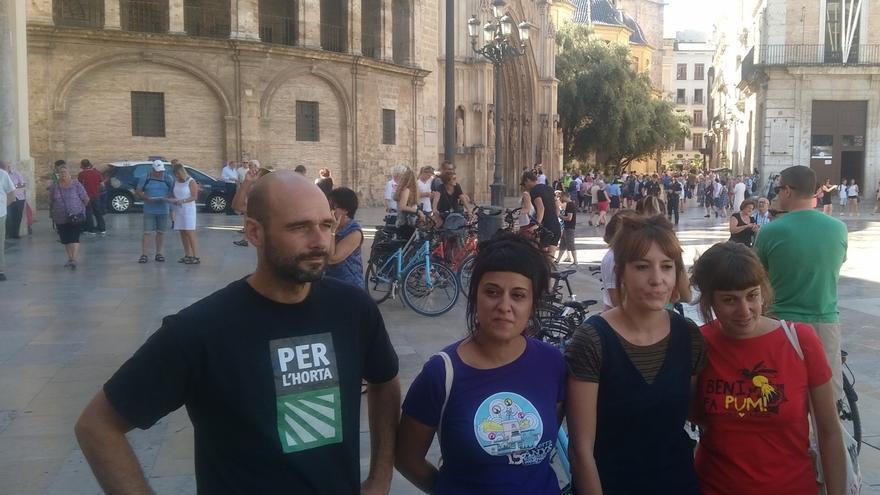 """La CUP defiende en Valencia que el referéndum se pueda hacer """"en el conjunto de los 'Països Catalans'"""""""