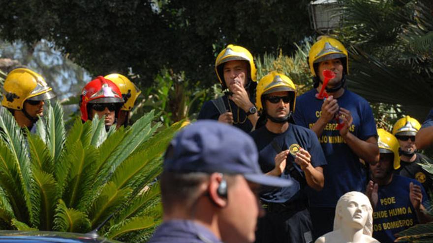 De la protesta de los bomberos #5