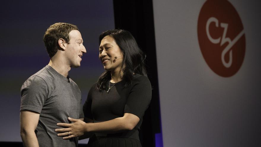 Mark Zuckerberg y su esposa Priscilla