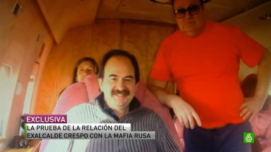 El exalcalde de Lloret de Mar y diputado de CiU disfrutó de la 'hospitalidad' rusa.