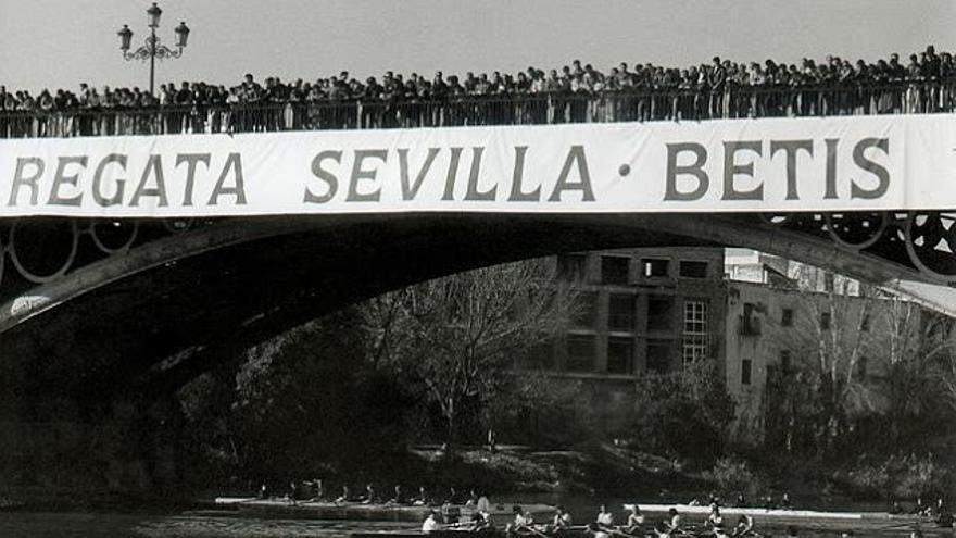 Remo: La Regata Sevilla-Betis, de efeméride