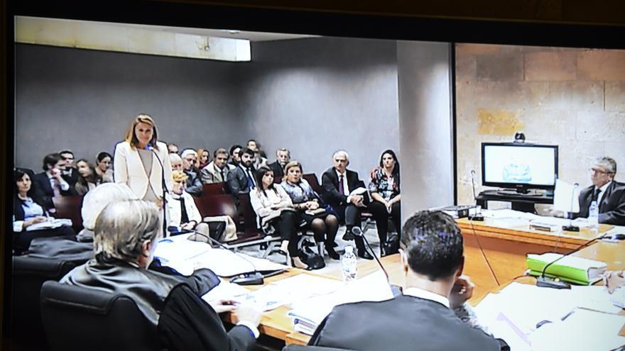 Juicio en Toledo por la demanda de protección al honor presentada por Cospedal contra Bárcenas
