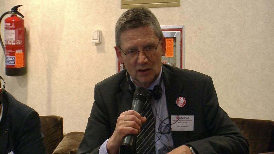 El secretario general de Industriaall, Ulrich Eckelmann. FOTO: Miguel Madariaga