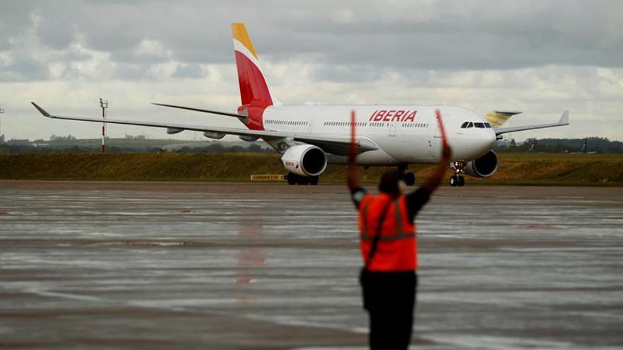 Firmado el nuevo ERE voluntario en Iberia para un máximo de 955 trabajadores