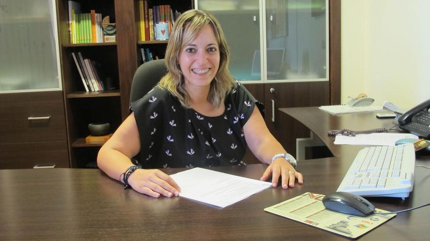 Susana Machín es consejera insular de Artesanía.