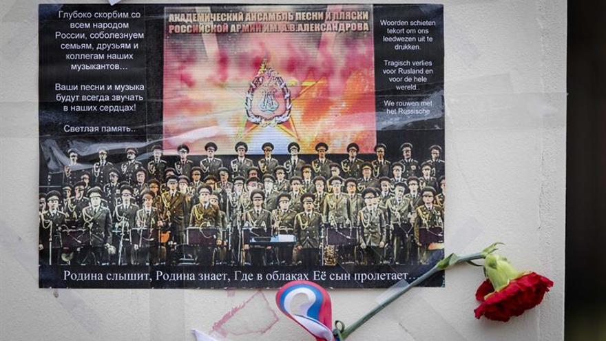 Rusia no descarta atentado terrorista a bordo del avión militar