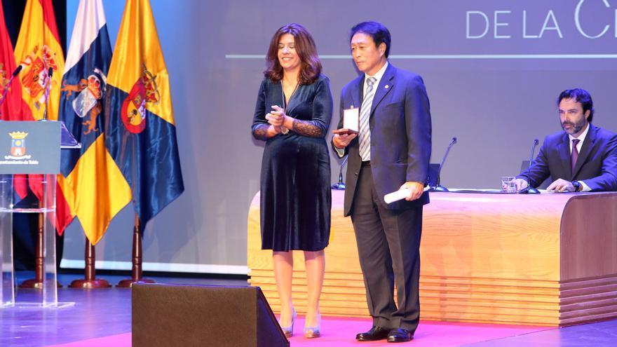 Bang Kyung Won, medalla al Mérito Deportivo de Telde