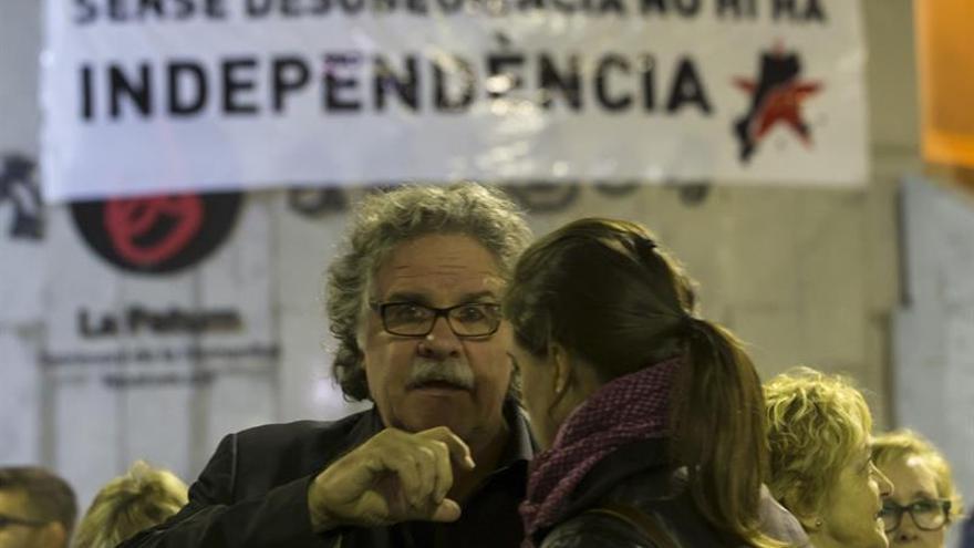 Concentraciones en varias capitales catalanas en apoyo a la alcaldesa de Berga