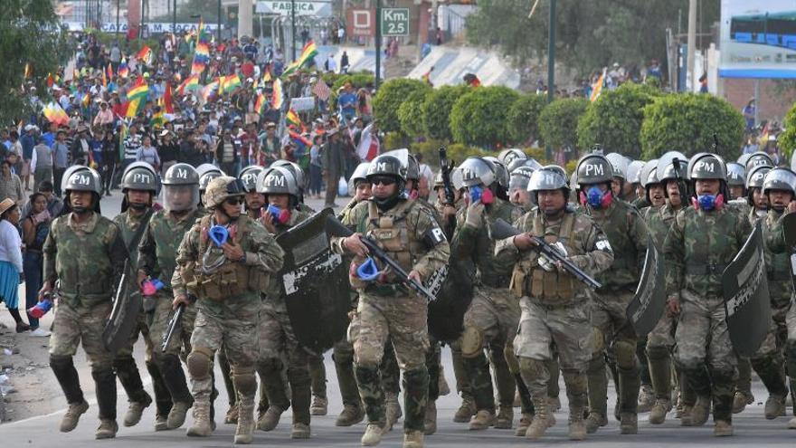 Las víctimas del trágico conflicto en Bolivia claman justicia