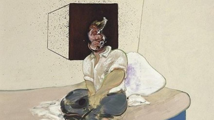 Estudio Para Autorretrato, De Francis Bacon