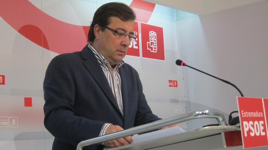 """Vara lamenta el """"infantilismo"""" de Monago por pedir el 2% de objetivo de déficit tras ser """"campeón de los recortes"""""""