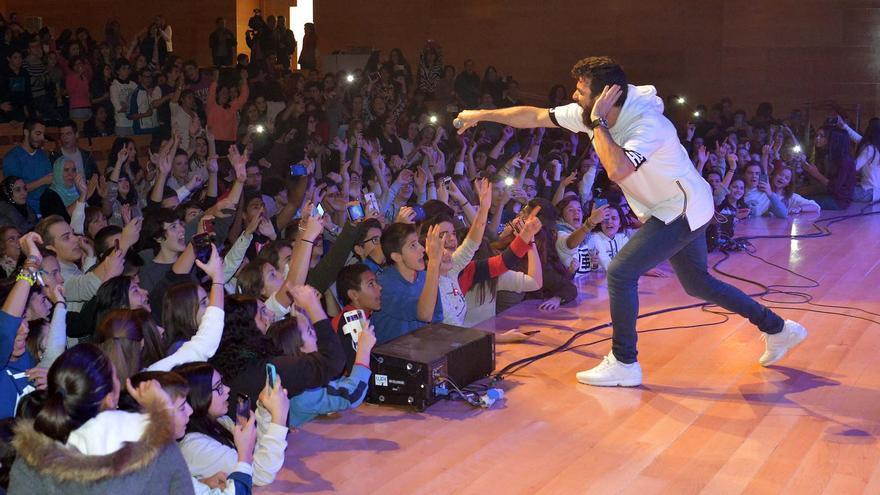 Huecco en concierto / Foto: Diputación de Ciudad Real.