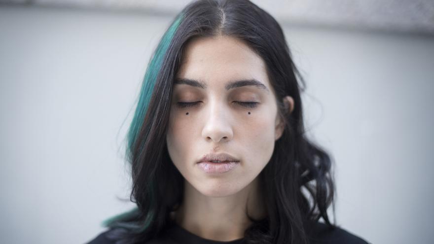Retrato de Nadya Tolokno, líder del grupo punk feminista ruso Pussy Riot. | FERNANDO SÁNCHEZ