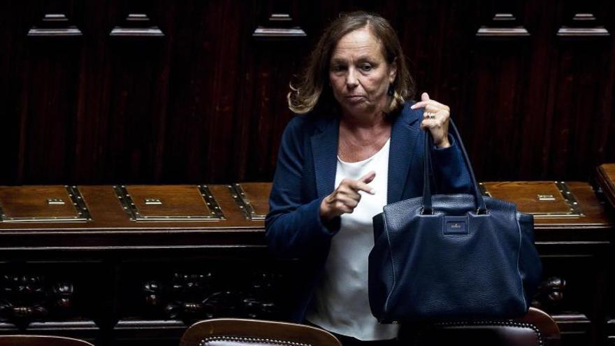 La ministra del Interior de Italia, Luciana Lamorgese.