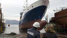 87.000 empleos y el futuro del sector naval, en manos de Almunia