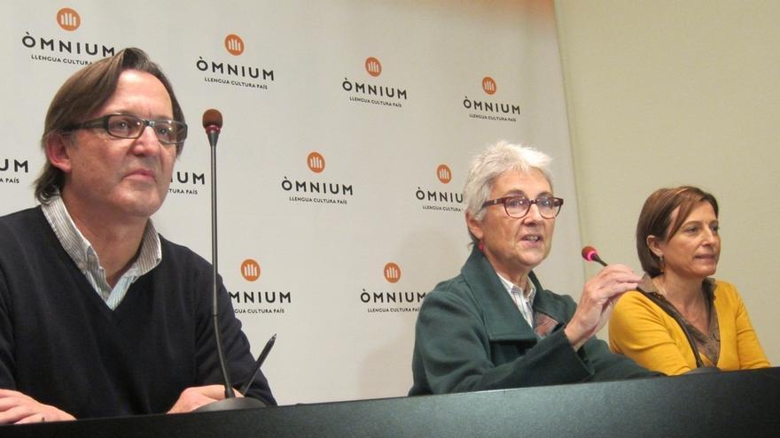 """Forcadell (ANC) cree que Mas ha puesto """"muy difícil"""" rechazar la lista unitaria independista"""