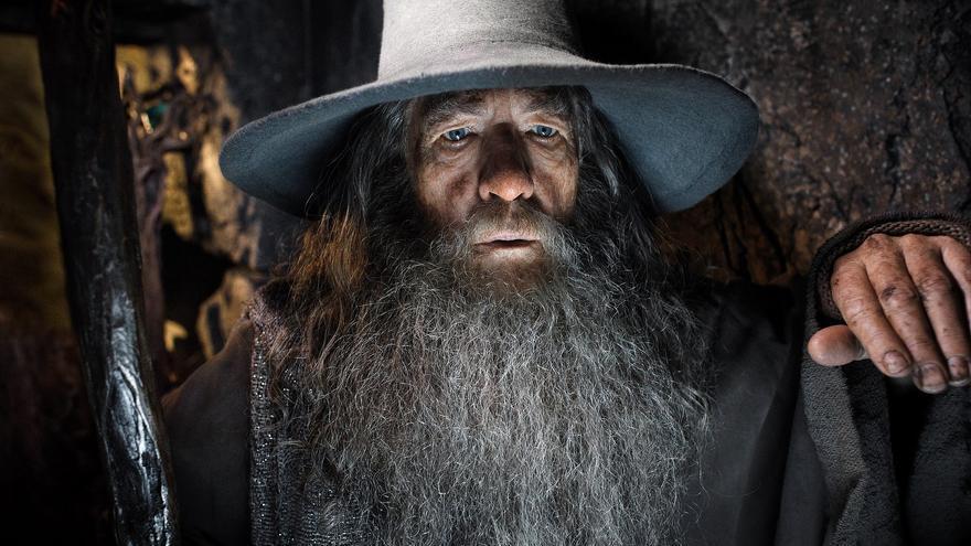 Ian McKellen interpretó al mago Gandalf en la saga 'El señor de los anillos'