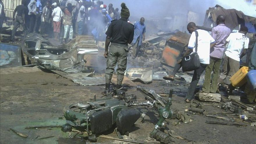 Una fuerte explosión sacude una mezquita en el norte de Nigeria