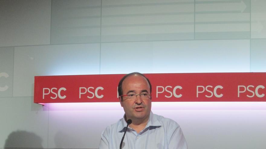 """Iceta (PSC) recuerda a Txiki Benegas como dirigente socialista """"coherente, leal y dialogante"""""""