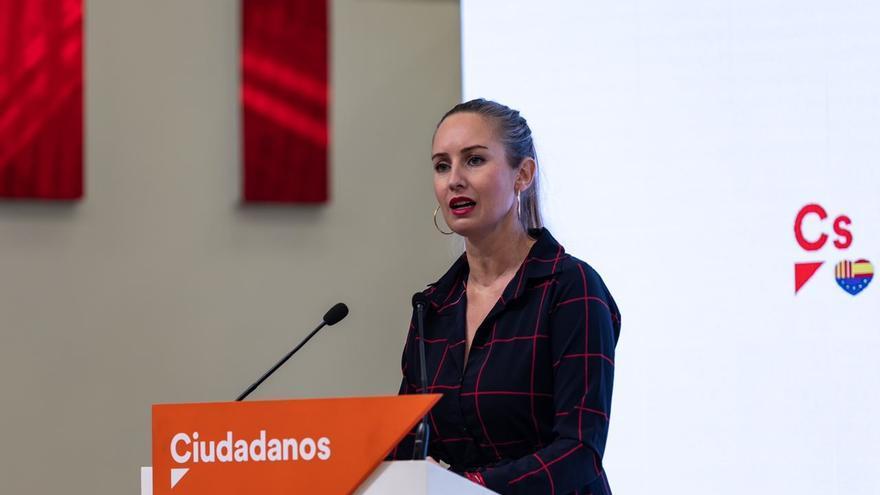 La portavoz de la Ejecutiva nacional de Ciudadanos, Melisa Rodríguez.