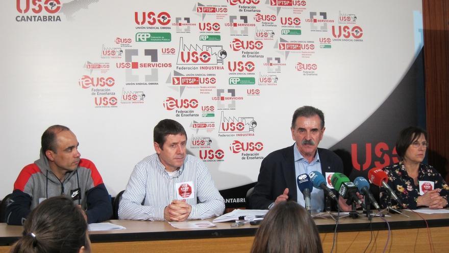 USO urge a Solvay a invertir 100 millones en Barreda para sustituir el carbón por otras energías y asegurar el empleo