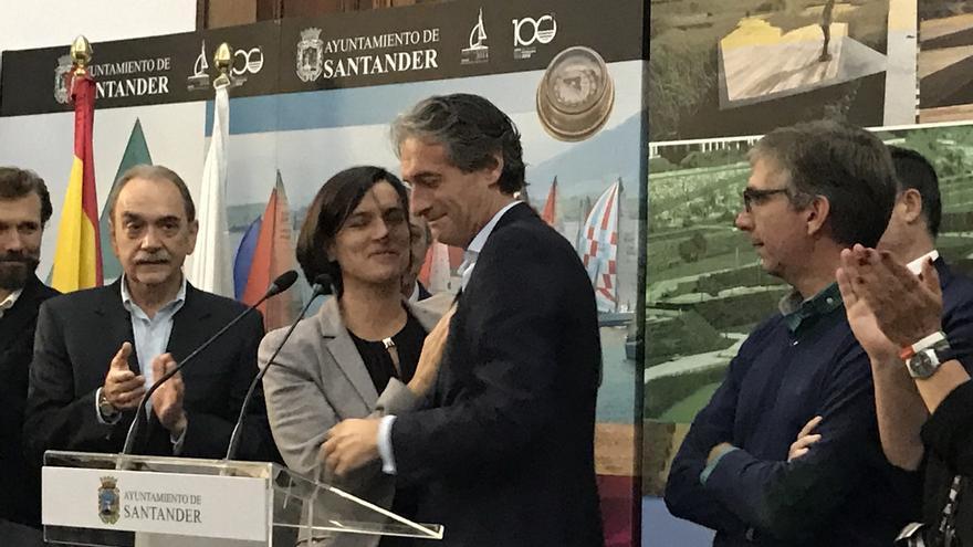 """De la Serna se despide emocionado de Santander: """"esta ciudad lo es todo para mí"""""""