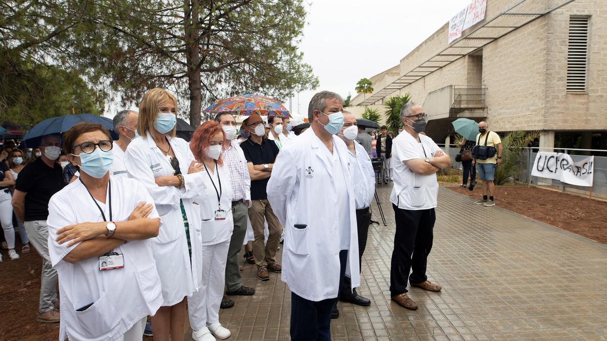 La Junta del Personal del hospital La Plana, donde se autorizó el ozono por primera vez