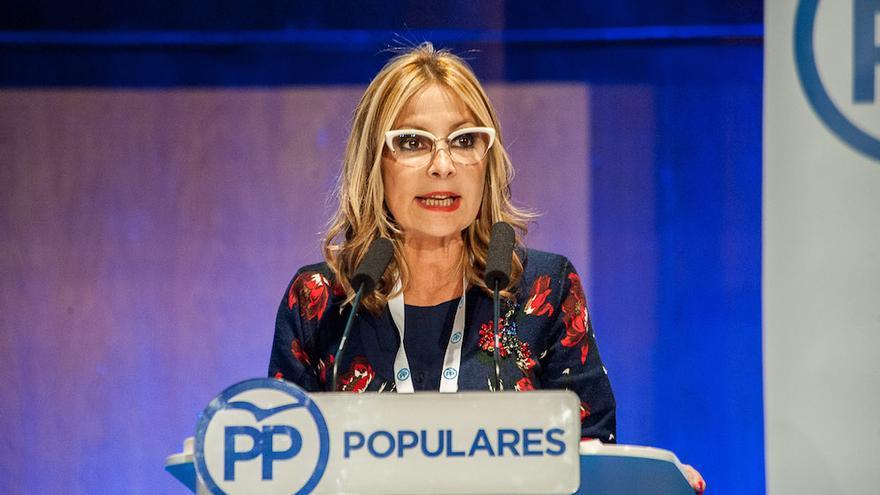 La secretaria general del PP en Canarias,  Australia Navarro.