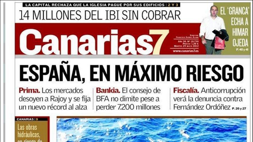 De las portadas del día (29/05/2012) #2