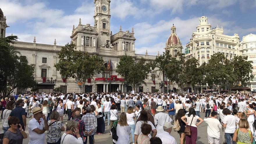 Manifestación Parlem/Hablemos en Valencia
