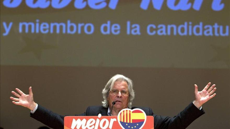Javier Nart en una imagen de las anteriores elecciones europeas en las que fue cabeza de cartel