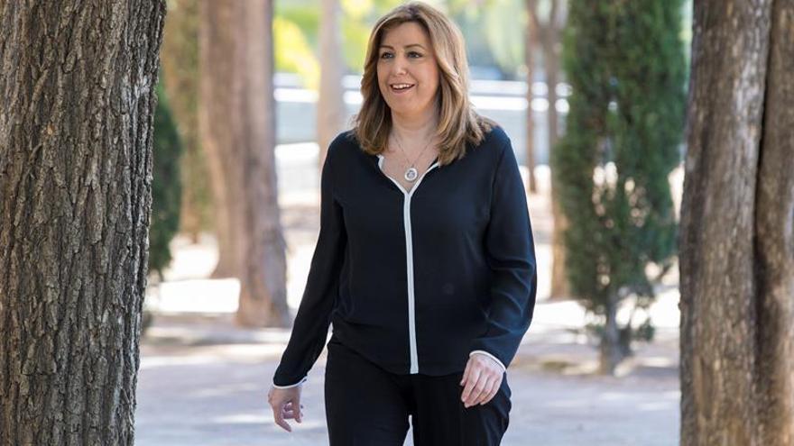 """Susana Díaz afirma que a ETA """"no hay que agradecerle"""" el desarme"""