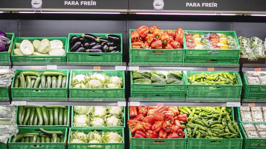 En las tiendas de Mercadona, las cajas recicladas siguen teniendo vida.