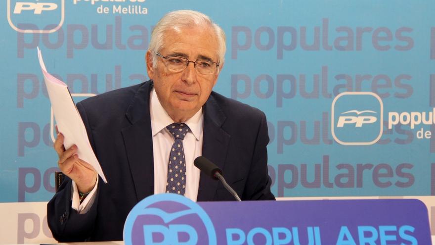Imbroda anuncia que repetirá en las autonómicas si el PP de Melilla le necesita para lograr una mayoría absoluta