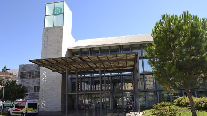 Imagen de la entrada principal del Hospital Provincial de Castellón