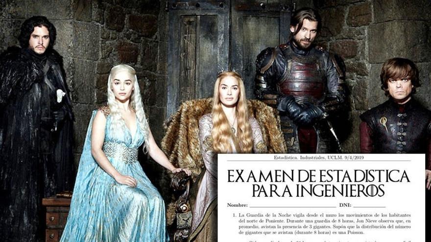 Examen basado en 'Juego de tronos'
