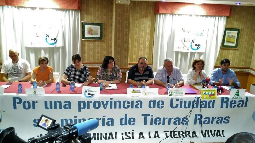 Rueda de prensa en Ciudad Real de la Plataforma Sí a la Tierra Viva