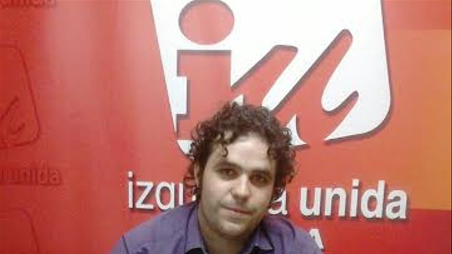 Jacobo Medianero, responsable de Convergencia de Izquierda Unida