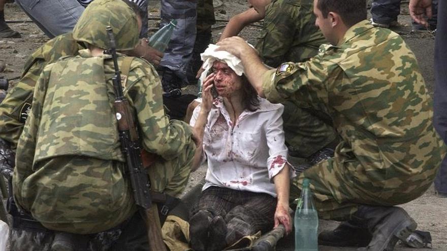 El TEDH condena a Rusia por no proteger a las víctimas de la masacre de Beslán