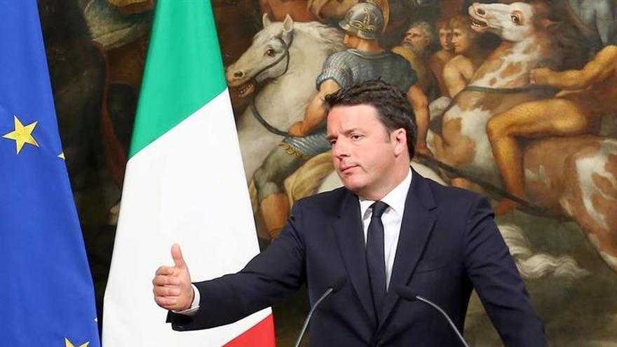 """Renzi vincula la candidatura de Trump con la prioridad """"al tiempo del miedo"""""""