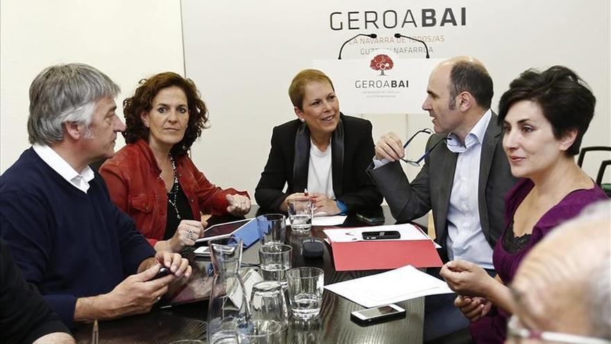 Geroa Bai abre la ronda para un nuevo Gobierno y UPN no descarta oposición
