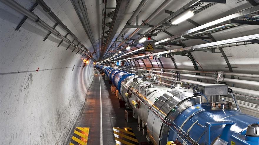 Vista del Gran Colisionador de Hadrones del CERN