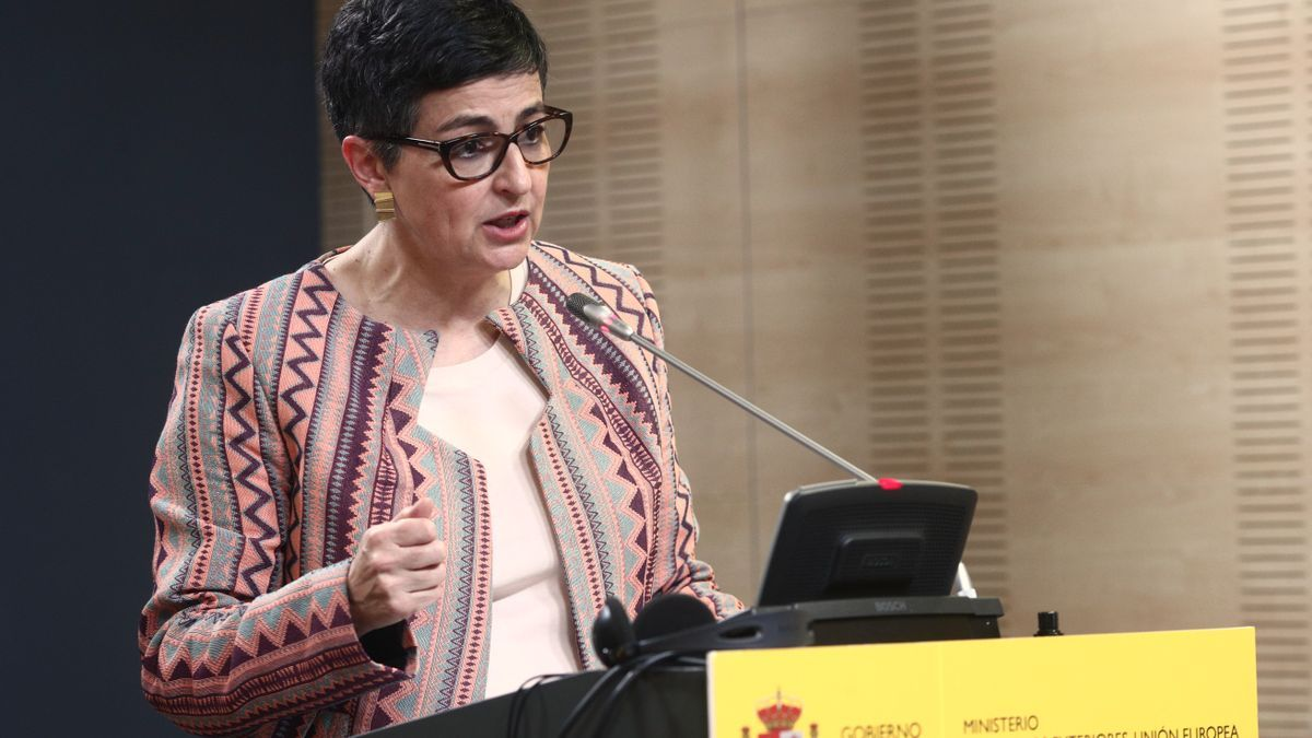 Archivo - La ministra de Asuntos Exteriores, UE y Cooperación, Arancha González Laya