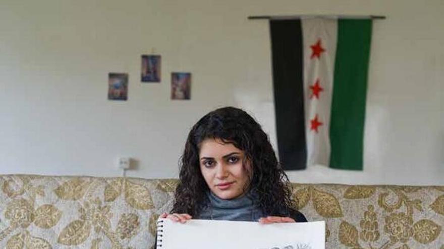 Hala, unas de las diecisiete mujeres sirias entrevistadas por Human Rights Watch