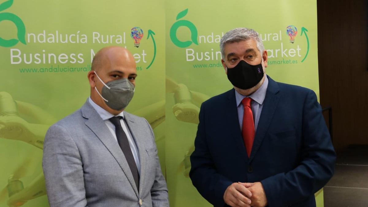 David García Ostos en la presentación de Andalucía Rural Business Market
