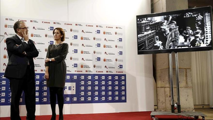 Navarra rememora 75 años de historia mundial de la mano de la Agencia Efe