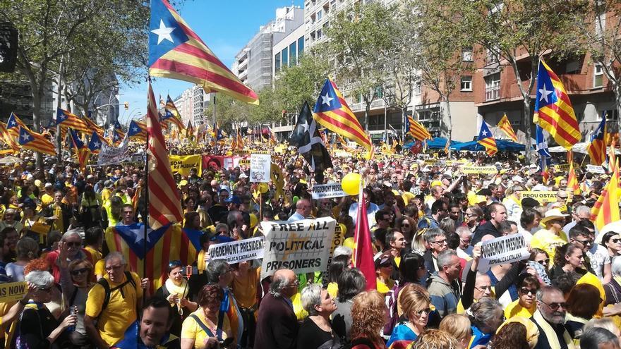 El Govern, Òmnium y la ANC se movilizan este sábado en Barcelona a favor de los presos