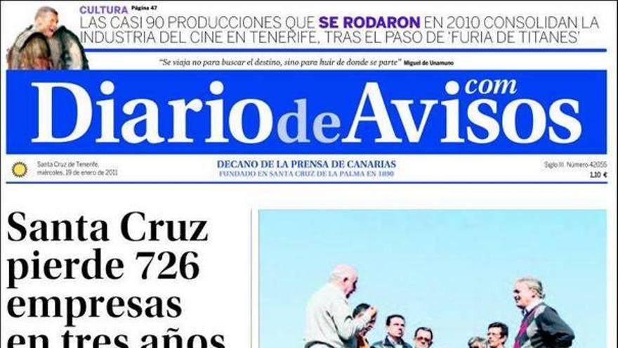 De las portadas del día (19/01/11) #3