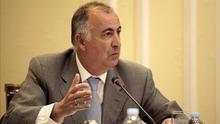 El consejero de Presidencia y Justicia del Gobierno de Canarias, Francisco Hernández Spínola.
